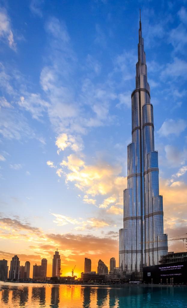 Burj Khalifa_Evening Shot