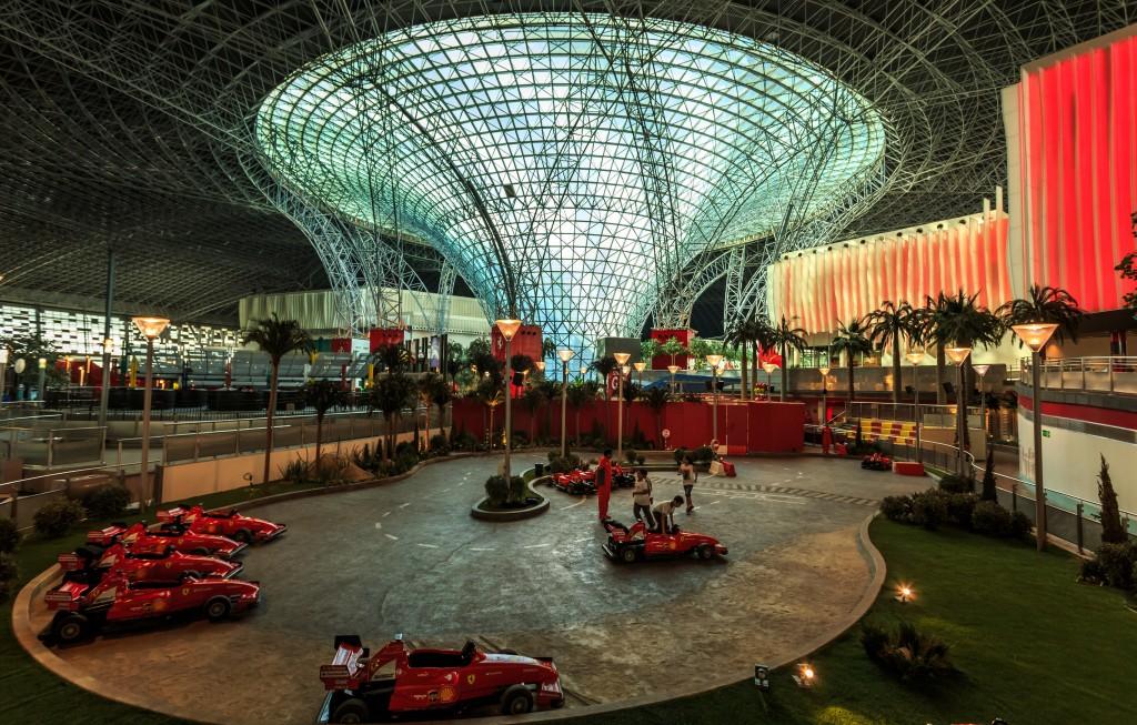 The Ferrari World at Abu Dhabi