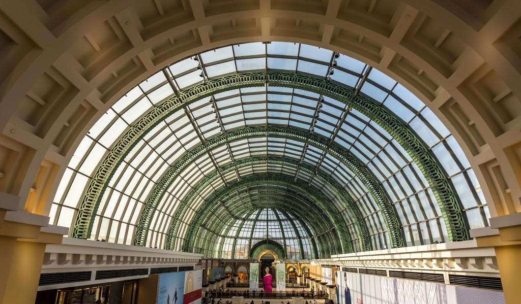 The Main Atrium of Mall of Emirates